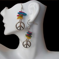 Peace and Rainbows Earrings