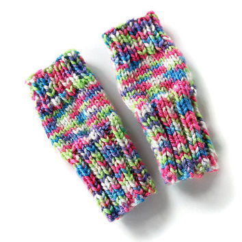 Cute Toddlers Fingerless Gloves, Girls Candy Gloves, Candy Gloves, Colorful Kids Gloves, Candy Toddlers, Small Cute Kids