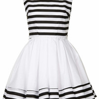 **Grace Striped Dress by Jones and ...