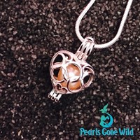Sterling Silver Heart Pendant & Necklace