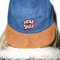 Lazy Oaf Holy Shit Cap Denim One