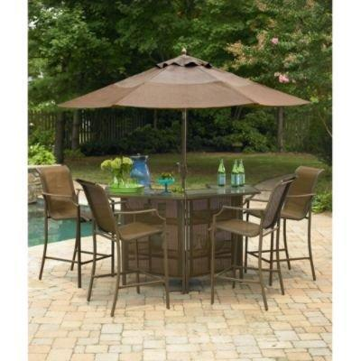 Saratoga 5 Piece Bar Set Garden From SEARS For My New Mansion