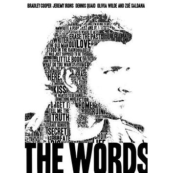 The Words Movie poster Metal Sign Wall Art 8in x 12in