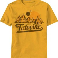 T-Shirt - Star Wars - New Tatooine,Large,Yellow