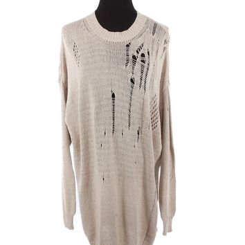 Isabel Marant Distressed Sweater Dress