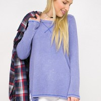 Thermal Long Sleeve Scoop Neck Top