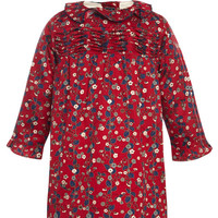 Baby Vine Cotton Tunic Dress by Oscar de la Renta - Moda Operandi