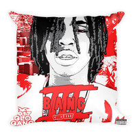 Bang III (16x16) All Over Print/Dye Sublimation Chief Keef Couch Throw Pillow Insert & Pillow Case/Cover
