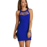 Royal Cage Banded Dress