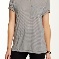 On HauteLook: Go Couture | Striped V-Neck Tee