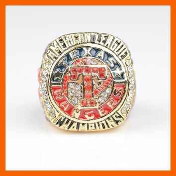 Texas Rangers: Replica 2011 American League Champions Ring