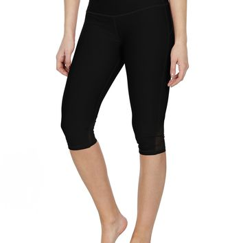 icyzone Yoga Pants For Women - High Waisted Workout Leggings, Activewear Athletic Capris Exercise Tights