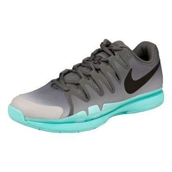Nike Zoom Vapor 9.5 Carpet Carpet Shoe Men - Dark Grey, Turquoise