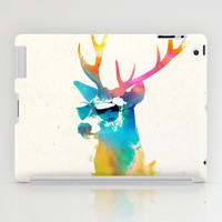 Sunny Stag iPad Case by Robert Farkas