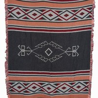 Southwest Wind  3 - 1/2 Layer Woven Cotton Throw