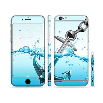 The Anchor Splashing Sectioned Skin Series for the Apple iPhone 6s Plus