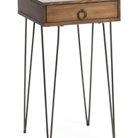 Hairpin Side Table With Drawer - Accent Furniture - T.J.Maxx