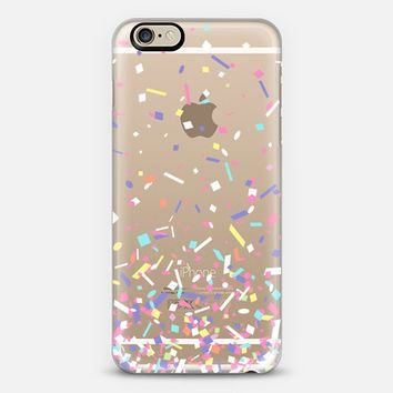 Pastel Candy Confetti Explosion iPhone 6 case by Organic Saturation | Casetify