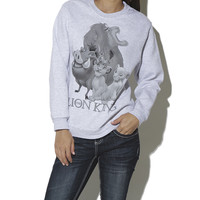 Lion King Sweatshirt | Shop Fall Festivals at Wet Seal