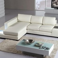 Cool Small Leather Sofa Sectional - Opulentitems.com