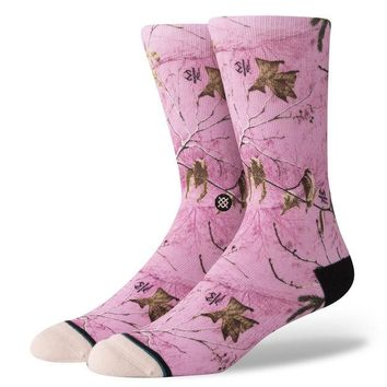 Stance - REAL TREE CAMO - PINK