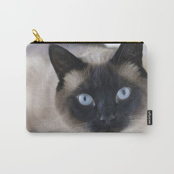 Innocent Expression Carry-All Pouch by Theresa Campbell D'August Art