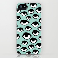 Eyes on you iPhone & iPod Case by Andrea Lauren Design