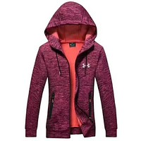 UNDER ARMOUR Women Men Lover Top Coat Red I-A001-MYYD