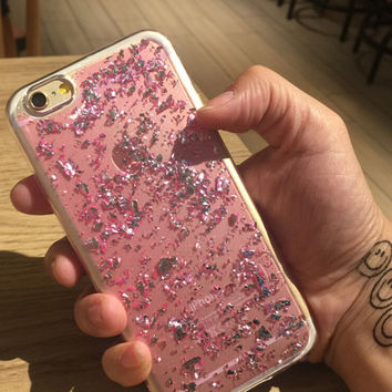 Pink Shining Case Cover for iPhone 7 iPhone 5s 5 SE 6 6S 6 Plus 6S Plus + Free Shipping + Gift Box 459
