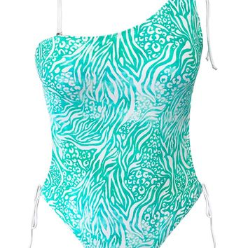 Cupshe Keep Energetic Print One-piece Swimsuit