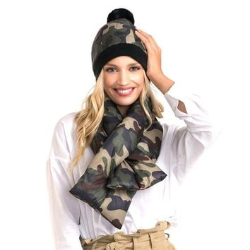 Padded Oblong Pull Through Scarf (Click For More Colors)