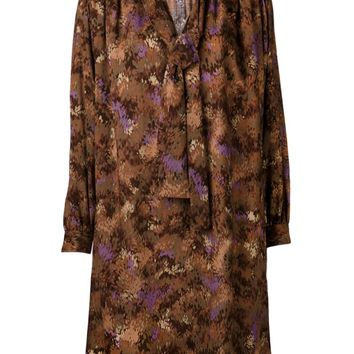 Yves Saint Laurent Vintage printed dress