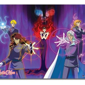 Great Eastern Entertainment Sailormoon Beryl's Group Wall Scroll, 33 by 44-Inch