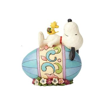Jim Shore Snoopy on Easter Egg-4059432