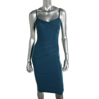 Stop Staring! Womens Pleated Ruched Casual Dress