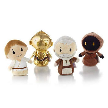 Hallmark itty bittys Star Wars Stuffed Animal Collector Set