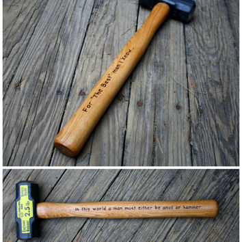 Custom Engraved Sledgehammer