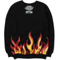 THRASHER Fashion Print Casual Long Sleeve Pullover sweater