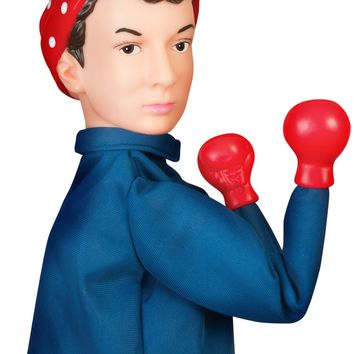 Punching Rosie The Riveter Puppet