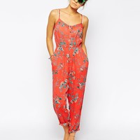 Billabong Steal The Night Beach Jumpsuit