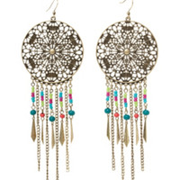 LOVEsick Bead Chandelier Earrings