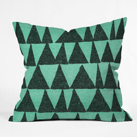 Nick Nelson Analogous Shapes 1 Throw Pillow