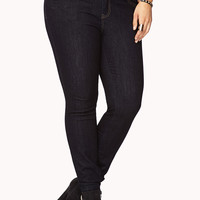 Classic High-Waisted Skinny Jeans