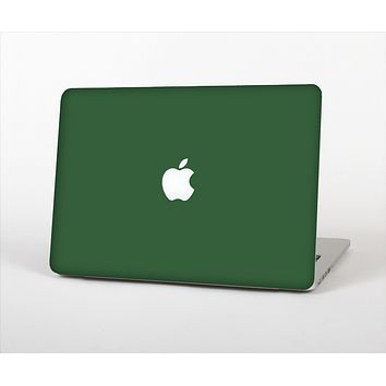 The Solid Hunter Green Skin Set for the Apple MacBook Pro 13""