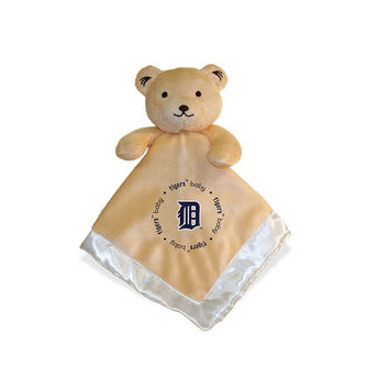 Detroit Tigers MLB Infant Security Blanket (14 in x 14 in)