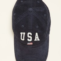 Katherine USA Corduroy Cap - Hats & Caps - Accessories