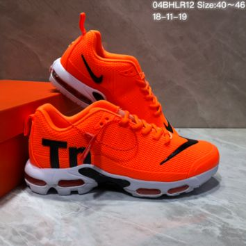 DCCK2 N645 Nike Air Max Plus TN Ultra Running Shoes Orange