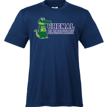Chenal Elementary Gators Youth Dry-fit T-Shirt - NAVY