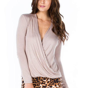 Plunging Twist Front Top GoJane.com