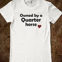 Owned by a Quarter Horse - Silver Swan Equestrian